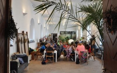 Letní výtvarné dílny vEko-ateliéru voranžérii Trojského zámku