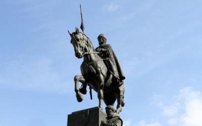 Příběhy soch: Svatováclavský pomník adílo Josefa Václava Myslbeka