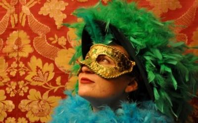 Sobotní výtvarný workshop: Masky / pod vedením Dany Goldové