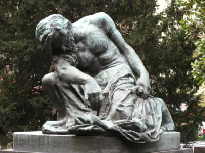 ZRUŠENO! Příběhy soch I: František Bílek ajeho dílo vesbírkách veřejné plastiky GHMP