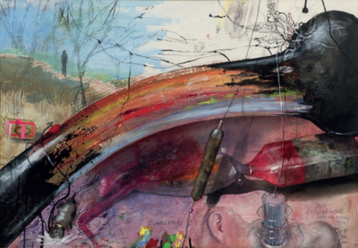 Technika starých mistrů – malba II – workshop pro děti srodiči namateřské arodičovské dovolené / kvýstavě Bedřich Dlouhý: Moje gusto
