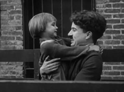 Kid, 1921, 68 min, režie: Charlie Chaplin / Fairbanks, Chaplin abiomechanické umění filmu