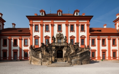 Příběhy soch I: Zámek Troja adílo Georga aPaula Hermannových