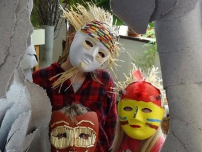 Sobotní výtvarný workshop: Přírodní masky sDanou Goldovou