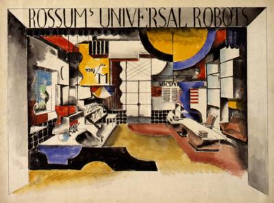 Výtvarná dílna pro dospělé aseniory: Vizuální aakustické umění / kvýstavě Devětsil 1920–1931