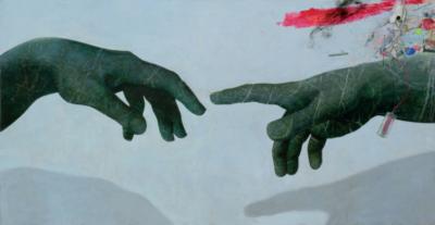 Experimenty apojetí obrazu II – workshop pro děti srodiči namateřské arodičovské dovolené / kvýstavě Bedřich Dlouhý: Moje gusto