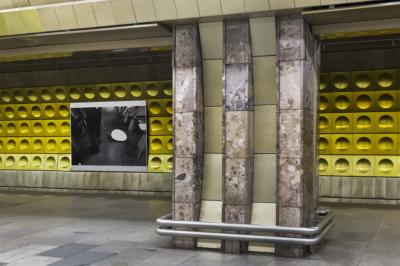 ZRUŠENO! Komentovaná prohlídka projektu Umění začarou (výstava vpražském metru)