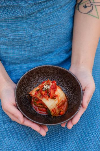 김치 – Alchymie – kvašení – kimčchi vTroji