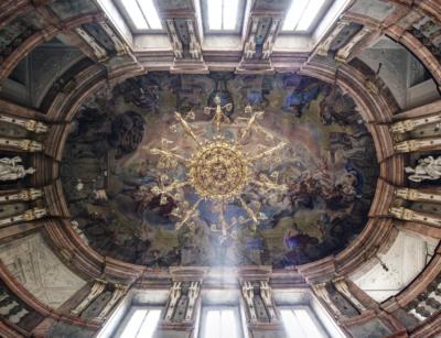 Výtvarná dílna pro dospělé aseniory: Fresková malba IaII / kdlouhodobé expozici Historické interiéry paláce…