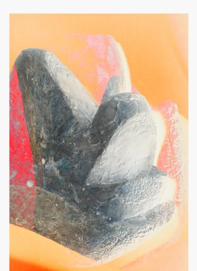 Jiří Thýn, prostorová morfologie No. A_B0A6763, (zdroj: H. Wichterlová, Portrét Vincence Makovského, 1928), 2021, barevná fotografie, 100×140 cm