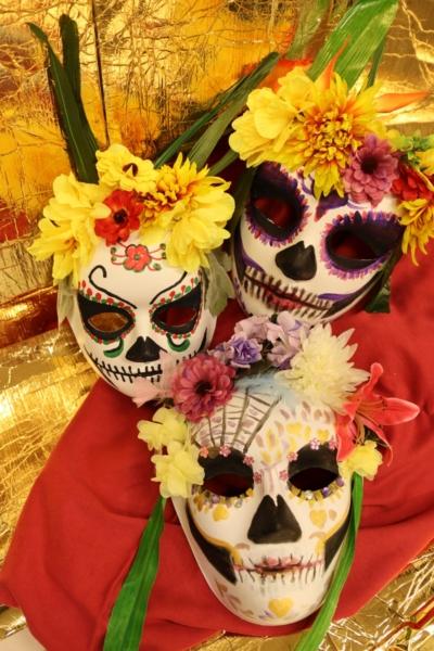 Sobotní výtvarný workshop: Mexické masky (s Danou Goldovou)