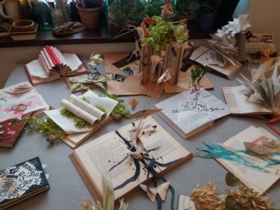Výtvarný workshop: Kniha – objekt aobří leporelo / vrámci GHMP Art Book Fair