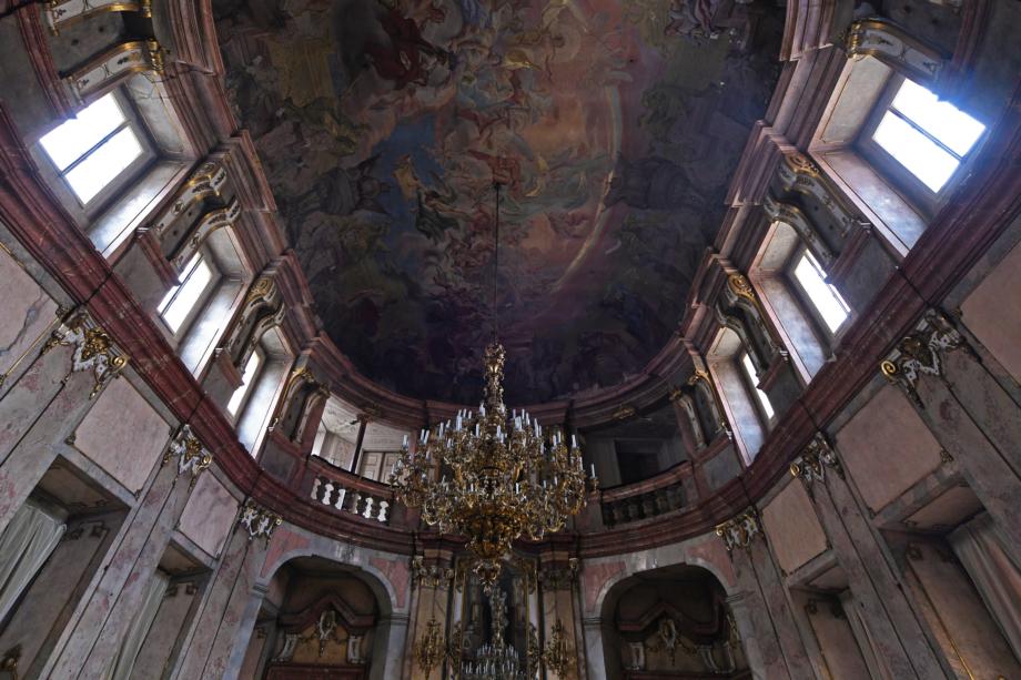 Colloredo-Mansfeldský palác – taneční sál. Foto Paul Kelley