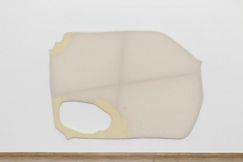 Milan Salák, Mimo pohled, 2012, akryl na plátně, 200×284 cm