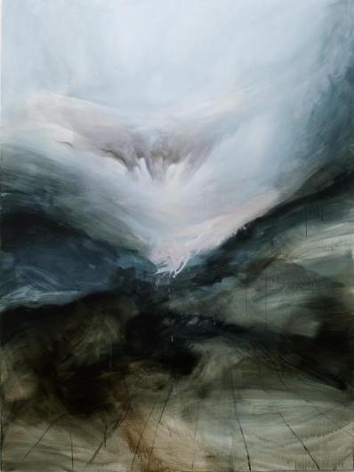 Jan Uldrych, Bez názvu (2), 2012, olej a akryl na plátně, 150×200 cm
