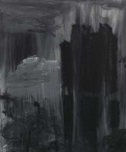Jakub Špaňhel, Brazilská centrální banka, 2009, akryl, plátno, 250×200 cm