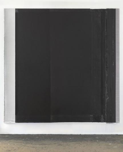 Jaromír Novotný, Černá #30, 2012, akryl na plátně, 200×203 cm