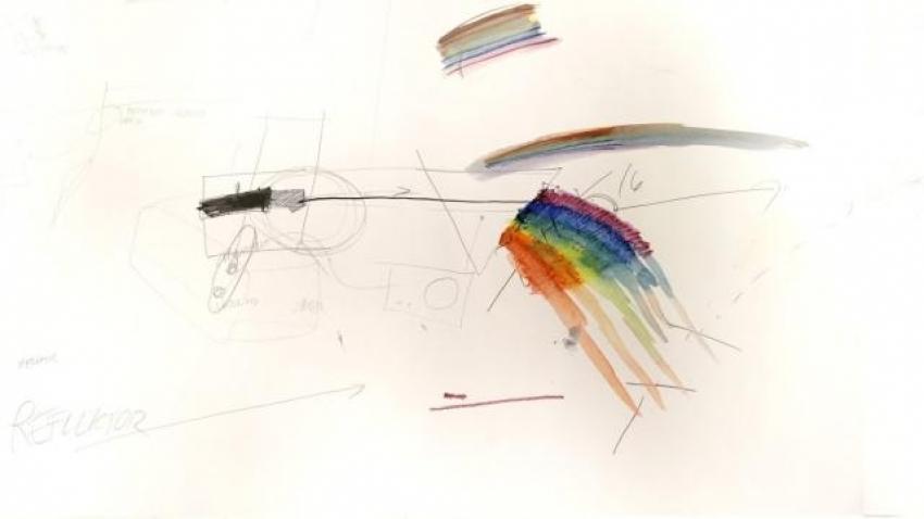 Richard Loskot, Jednoduchá věc, 2012, kresba