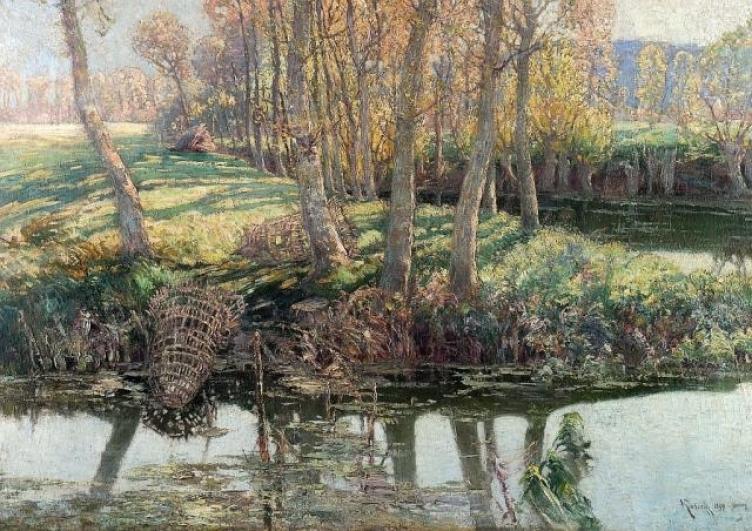Václav Radimský, Na řece l'Epte, 1897