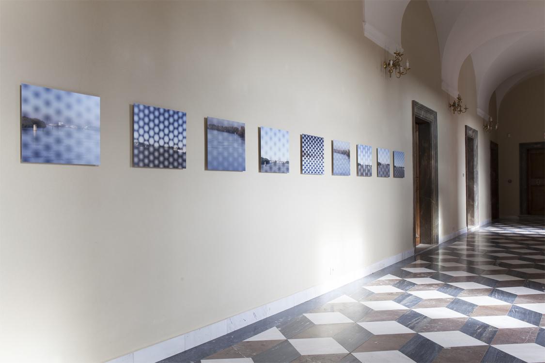 view to the exhibition Vladimír Škoda: Harmonices Mundi / Johannes Kepler, Troja Château, 2018. Photo by Barbora Fastrová