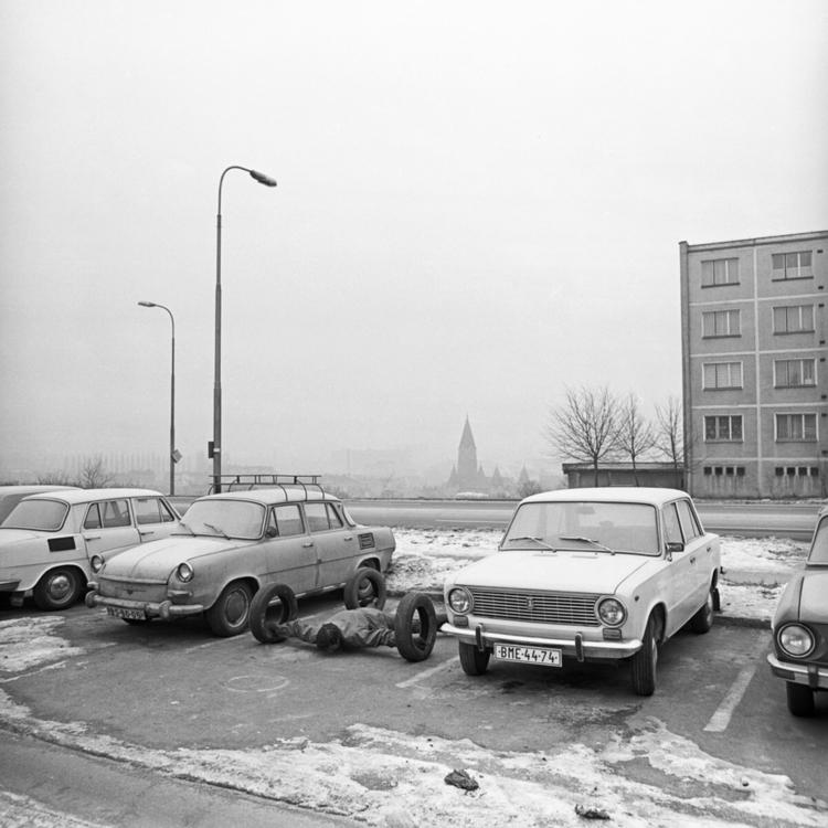 Vladimír Ambroz, Car, 1977, Foto Miroslav Ambroz