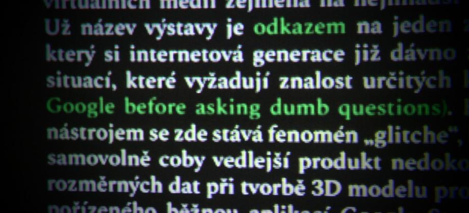 """Start up: Jiří Hölzel – """"UGBADQ"""""""