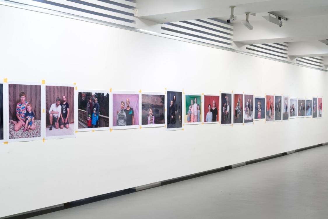 pohled do výstavy Pavel Baňka: Blízkost, Dům fotografie, 2018. Foto Tomáš Souček