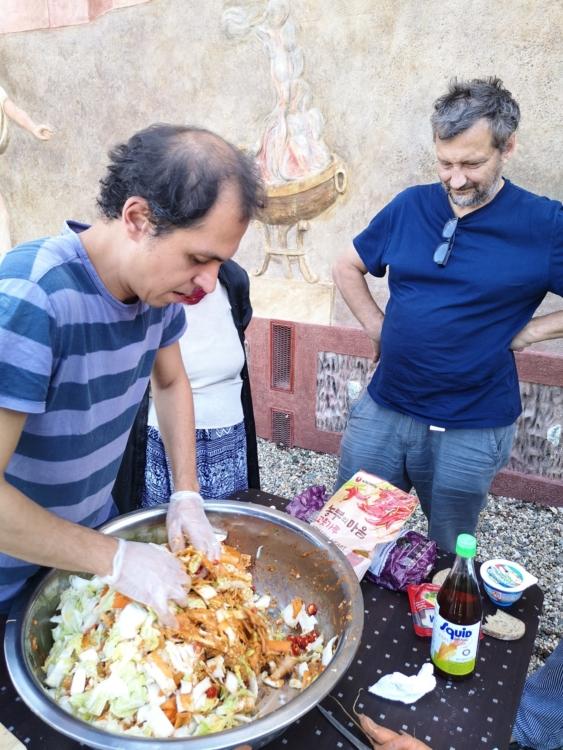 김치 – Alchymie – kvašení – kimčchi v Troji