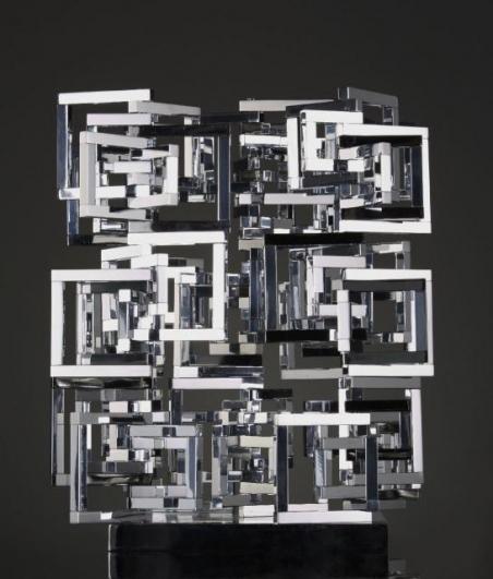 Radek Kratina, Formace z rámečků na čtyřech osách, 1960, soukromá sbírka