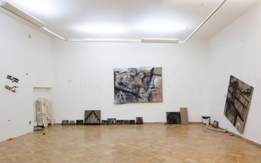 pohled do výstavy Nikola Čulík: Život a dílo, Staroměstská radnice, 2013. Foto Tomáš Souček
