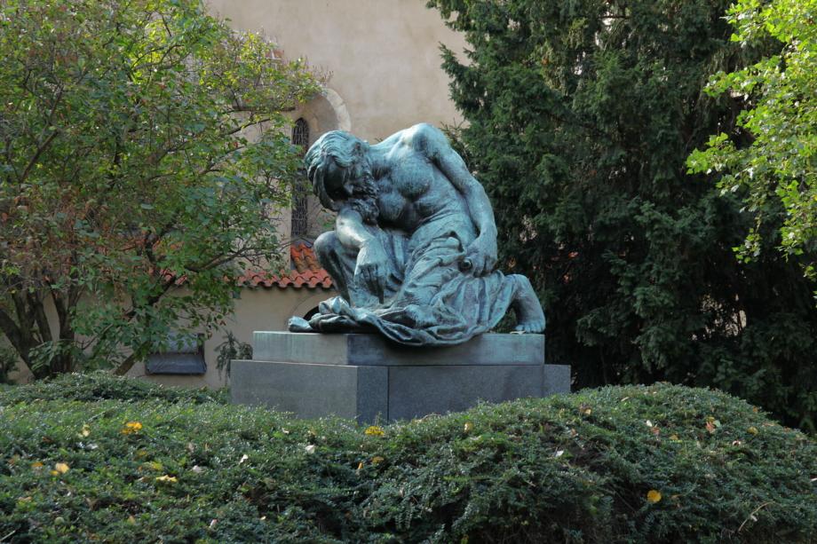 František Bílek, Mojžíš, 1905, bronz