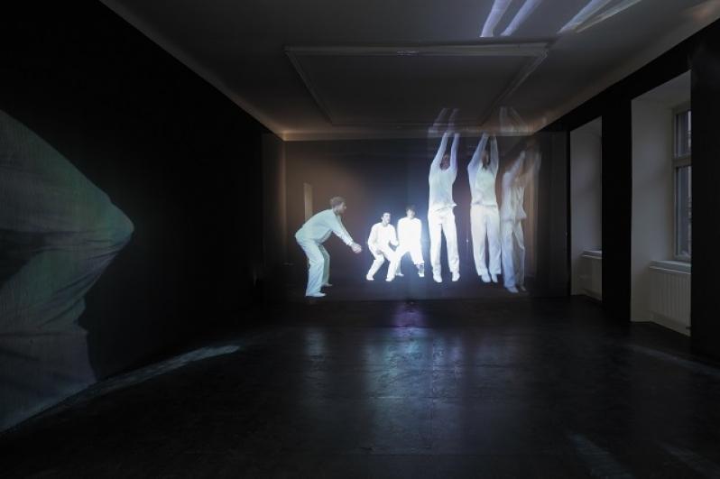 Milena Dopitová, Já, mám, pojď, já, jdu!, holografická instalace