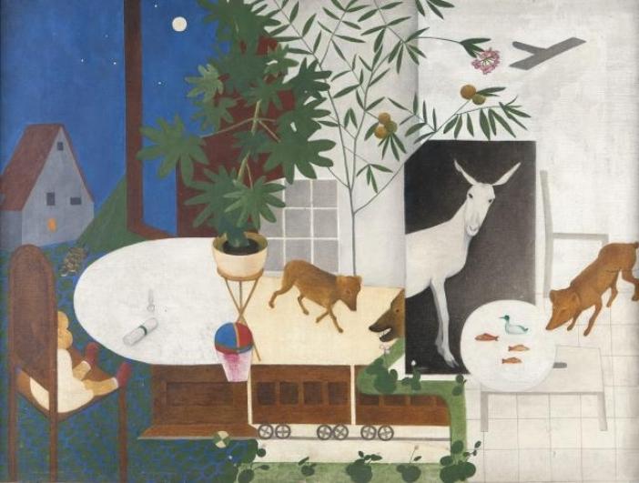 Vlasta Vostřebalová Fischerová, Dětský svět (1925), soukromá sbírka