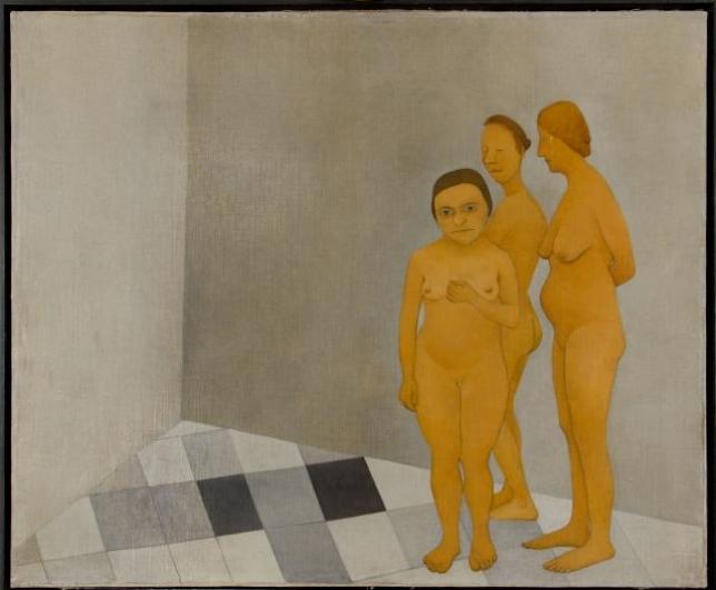 Vlasta Vostřebalová Fischerová, Ženy v lázních (1925), Galerie výtvarného umění v Chebu