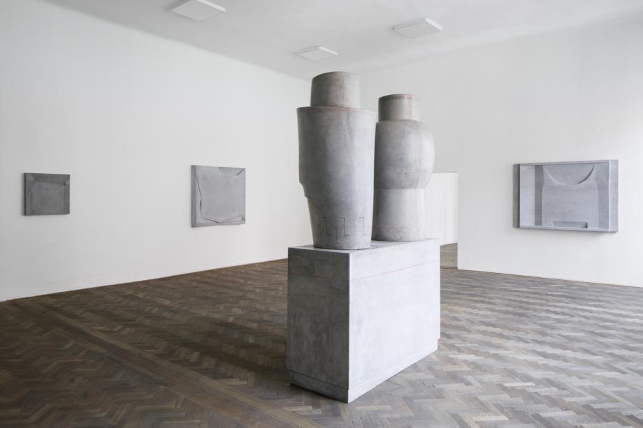pohled do výstavy Monika Immrová: Tříbení, Colloredo-Mansfeldský palác, 2020. Foto Tomáš Součekk