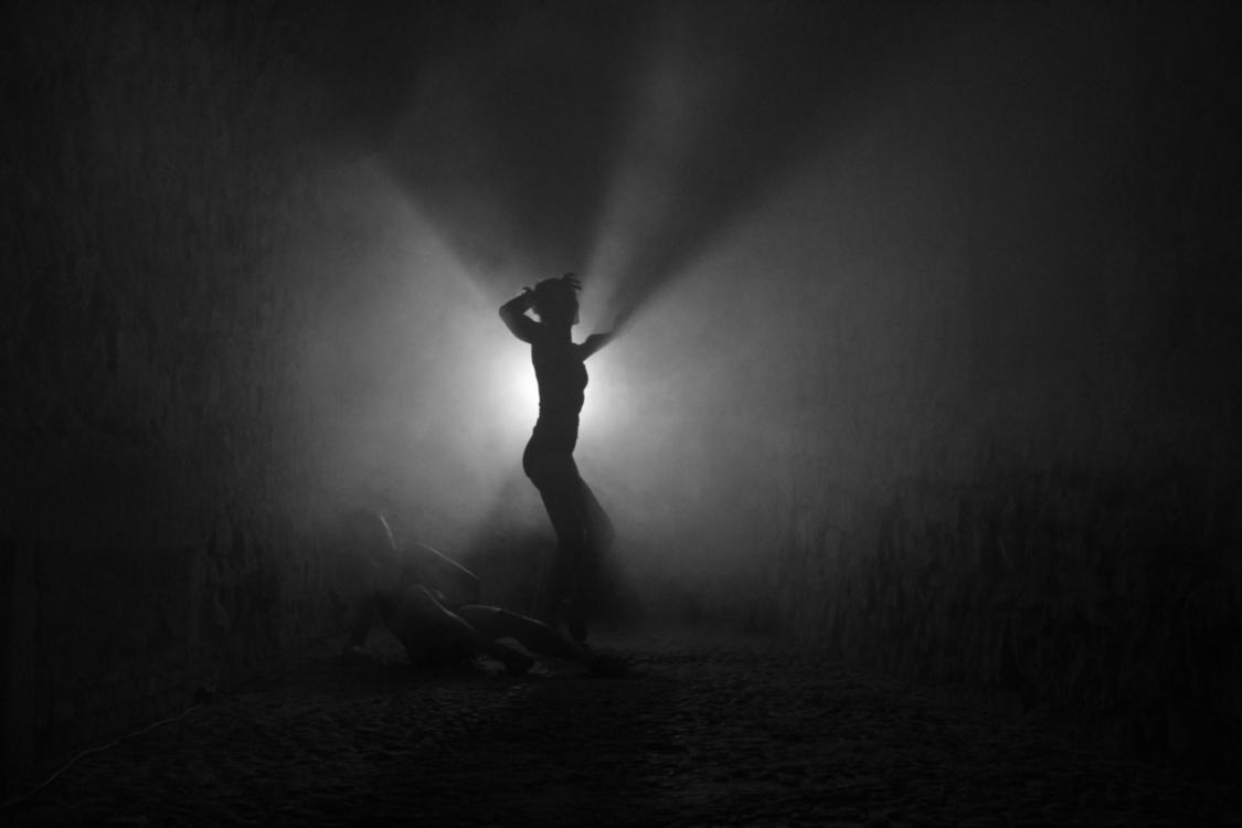 Pamět kamene, Light Underground. Foto Jan Komárek