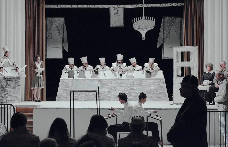 Eva Koťátková, Justiční vražda Jakoba Mohra, divadelní performance, 2015