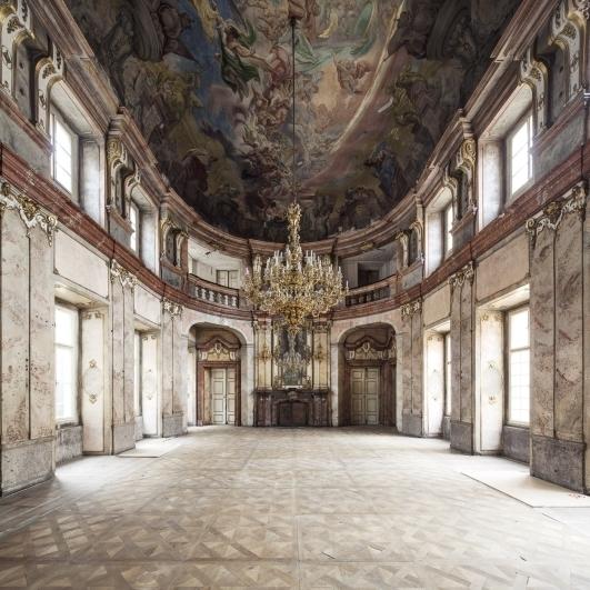 Colloredo-mansfeldský palác, taneční sál, foto Tomáš Souček