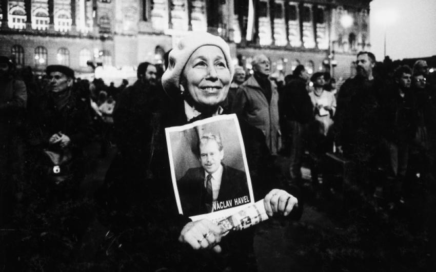 Karel Cudlín, Sametová revoluce, 1989