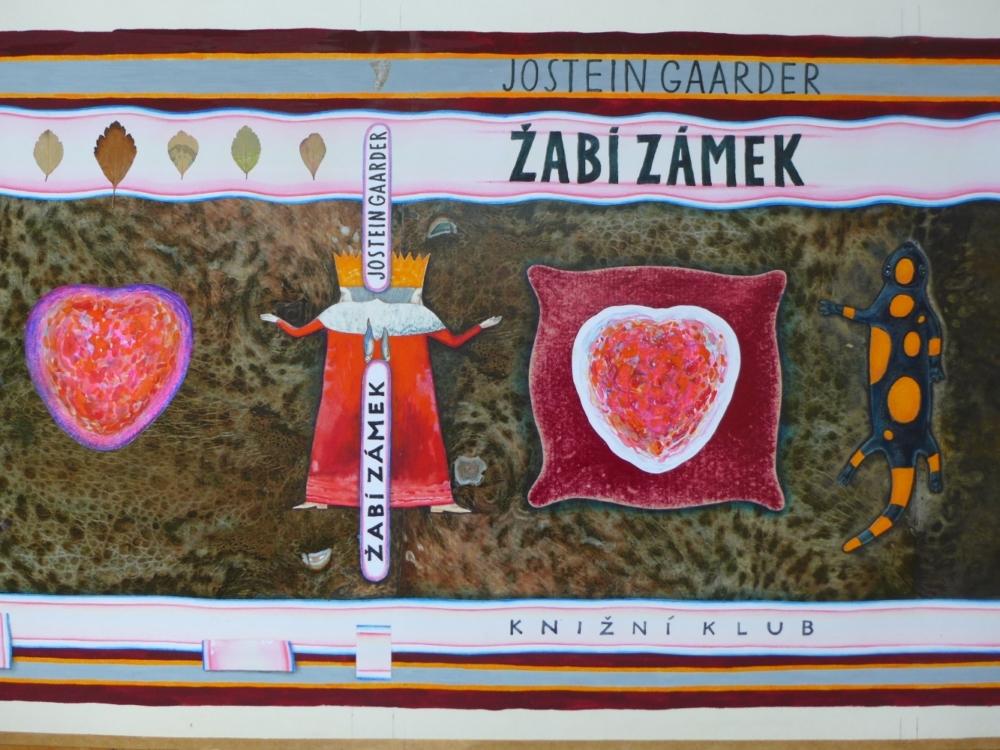 František Skála, Žabí zámek – obálka (Jostein Gaarder: Žabí zámek), 2007