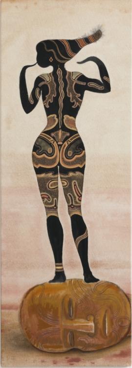 František Skála, Triumf krásy, 2020, přírodní pigment na plátně, 138×49 cm