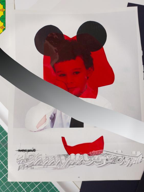 Jiří Thýn, untitled from Silence, Torso, the Present series, 2021