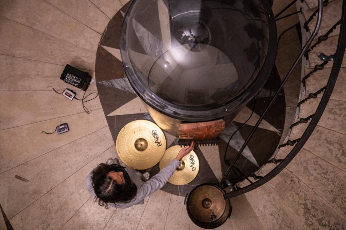 Aki Onda, Cassette Memories, 2019. Foto Jan Bartoš