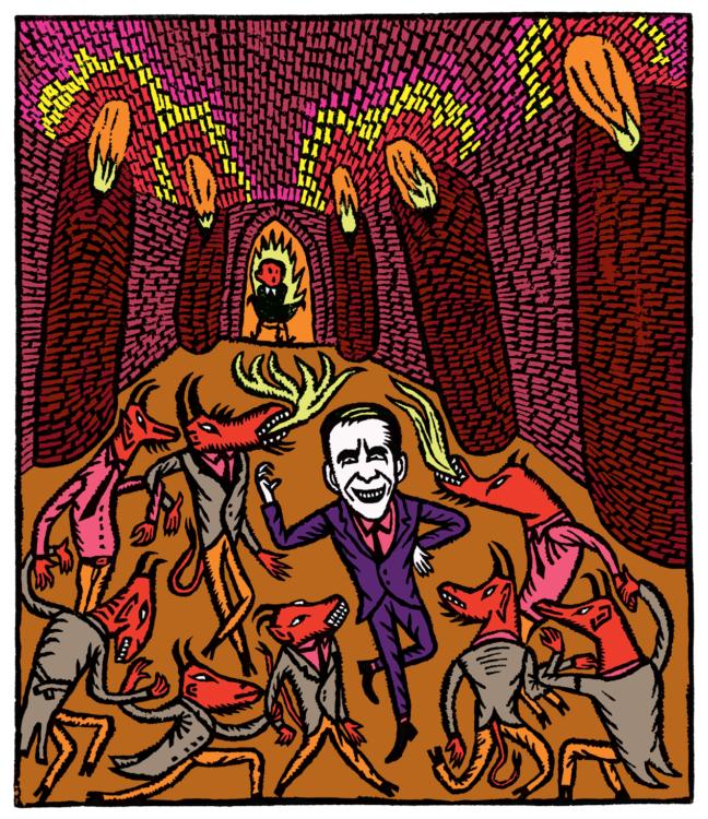 Magdalena Rutová, Jeff Koons na byznys schůzce v pekle