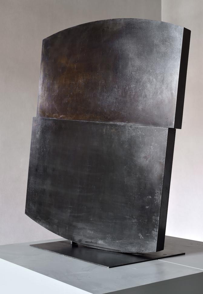 Stanislav Kolíbal, Shaky Position, 1968, metal, 119×115×10 cm