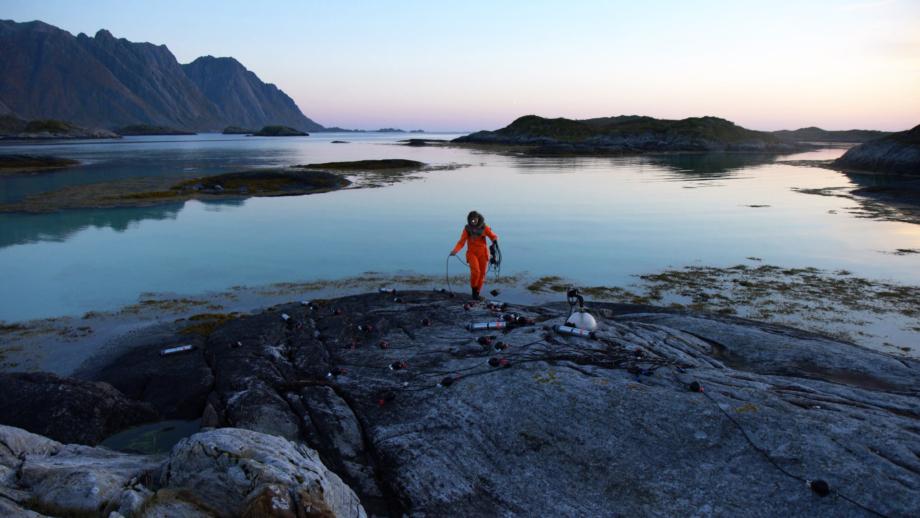 Ursula Biemann, Akustický oceán, 2018, 16 min