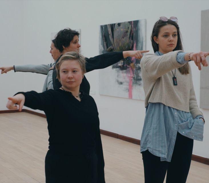 Dancing Museums workshop. Foto Dominik Žižka