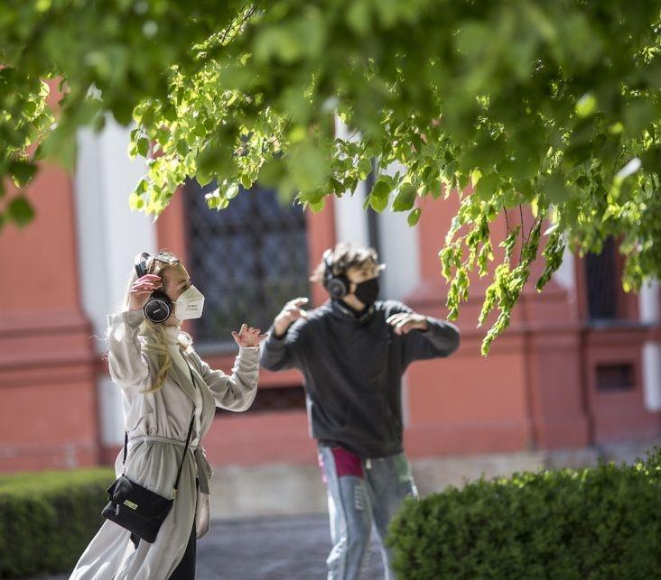 Silent Mob. Foto Vojtěch Brtnický