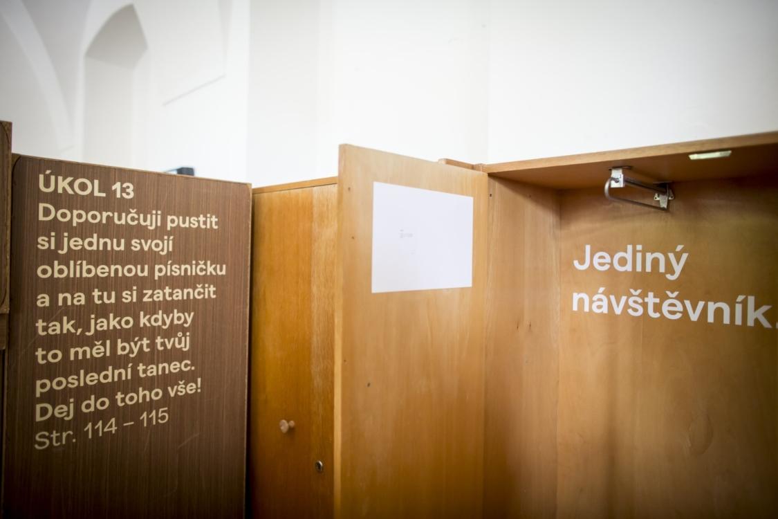 Dancing Museums. Foto Vojtěch Brtnický