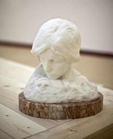 Ladislav Kofránek, Snění, 1904, Galerie plastik Hořice